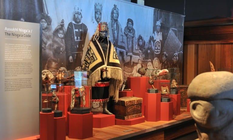 Le musée Nisga'a de Greenville (Laxqalts'ap)