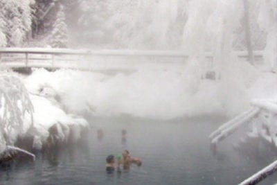 Les sources thermales Liard Hot Springs