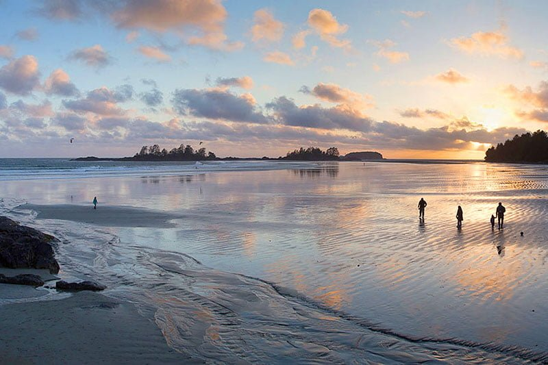 Chesterman Beach - Crédit photo : Go Tofino
